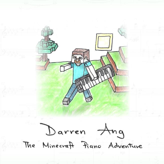 The Minecraft Piano Adventure ALBUM ART